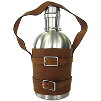 leather growler
