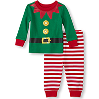 practical gift elf pajamas