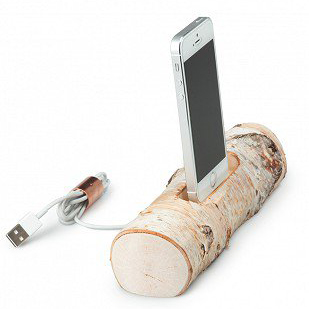 birch driftwood docking station gift for thirteen year old