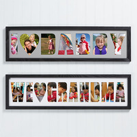 Personalized Name Photo Collage Frame