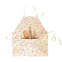 apron and baking set for little girls