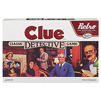 retro clue board gamegift for nieces who like to play games