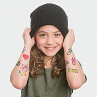 doddle temporary tattoos for hipster kids