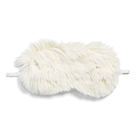 faux fur eye mask stocking stuffer idea