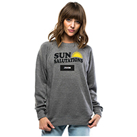 sun salutations sweatshirt new year's resolutions tips
