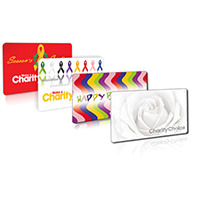 charity choice card charitable donation last minute gift idea
