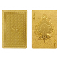 gold playing cards gift for tweens