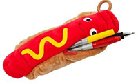 hot dog pencil case sugar free valentine gift for kids